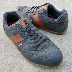 Levi's Denim Jean Casual Low Sneakers Size 13